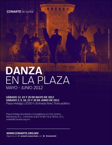 Danza en la Plaza - mayo y junio 2012