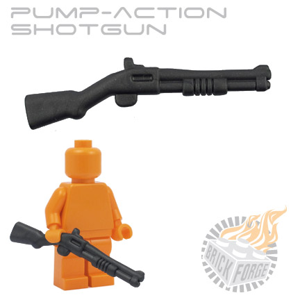 Pump-Action Shotgun - Carbon