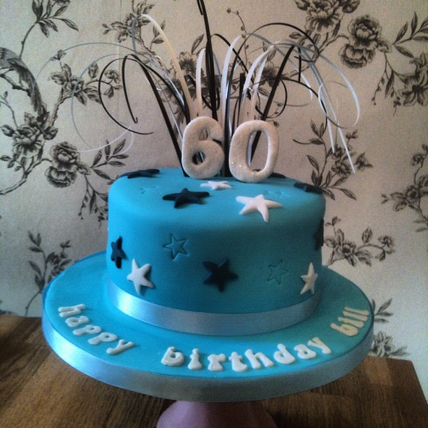 Cake Ideas For 60th Male Birthday : 60th birthday cake Flickr - Photo Sharing!