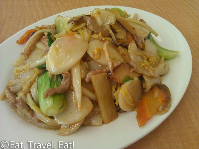 May's Cafe- Arcadia, CA: Fried Chewy Rice Cake