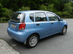 My new car in Laragh