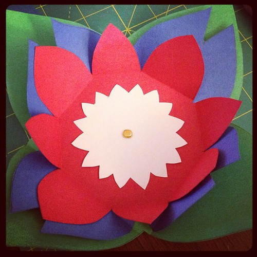#DIY blooming envelope & card for someone very special