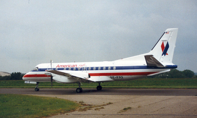 Saab-Fairchild 340, American Eagle. | Flickr - Photo Sharing! American Eagle