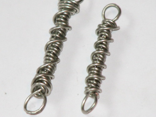 Wire Sprial Charms 004