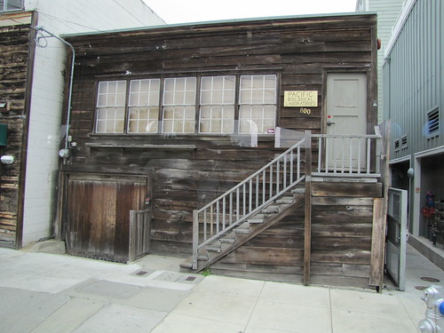 Doc's laboratory in the movie Cannery Row