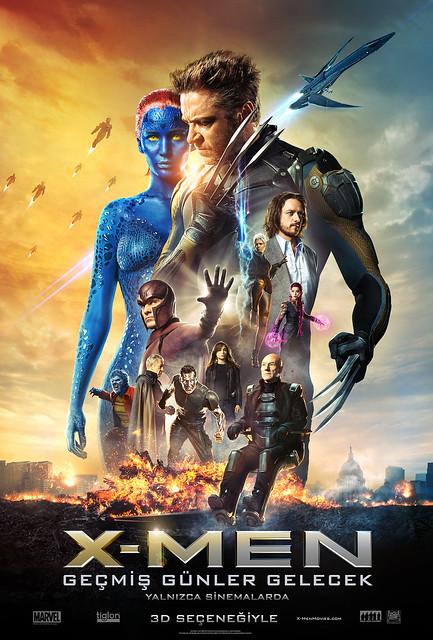 X-Men: Geçmiş Günler Gelecek - X-Men: Days of Future Past (2014)
