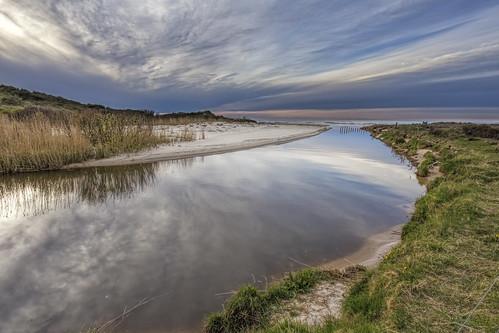 sky reflections denmark estuary å 1740mm manfrotto 6d landoflight canoneos6d uggerbyå uggerbyriver udløbet
