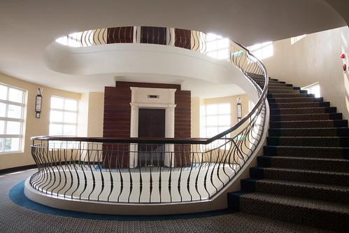 台南商務會館悠閒度假-客房內迴廊01