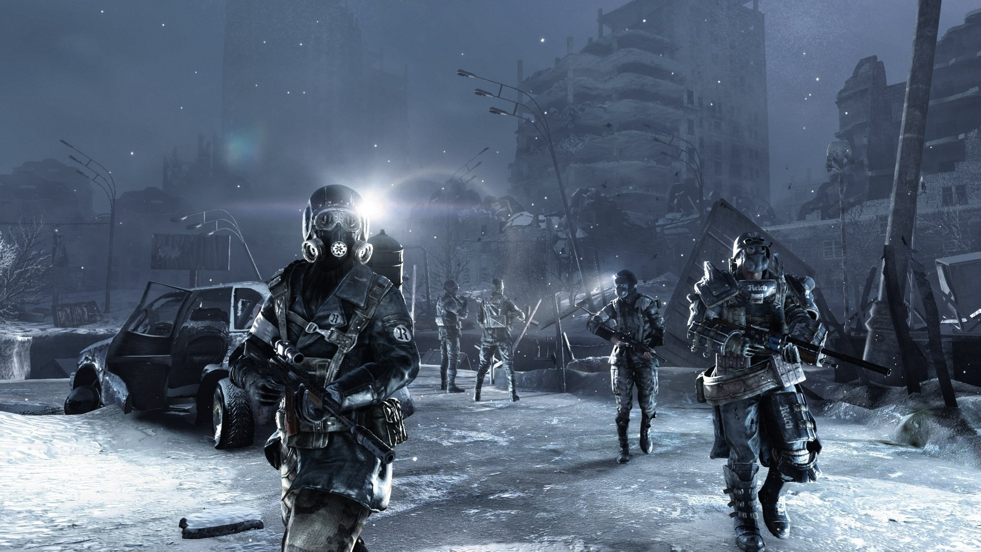 Metro: Redux PS4 Comparison 6
