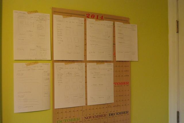 Paper Website Mockup