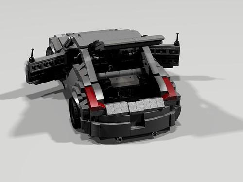 Lego Nissan 350Z  - boot