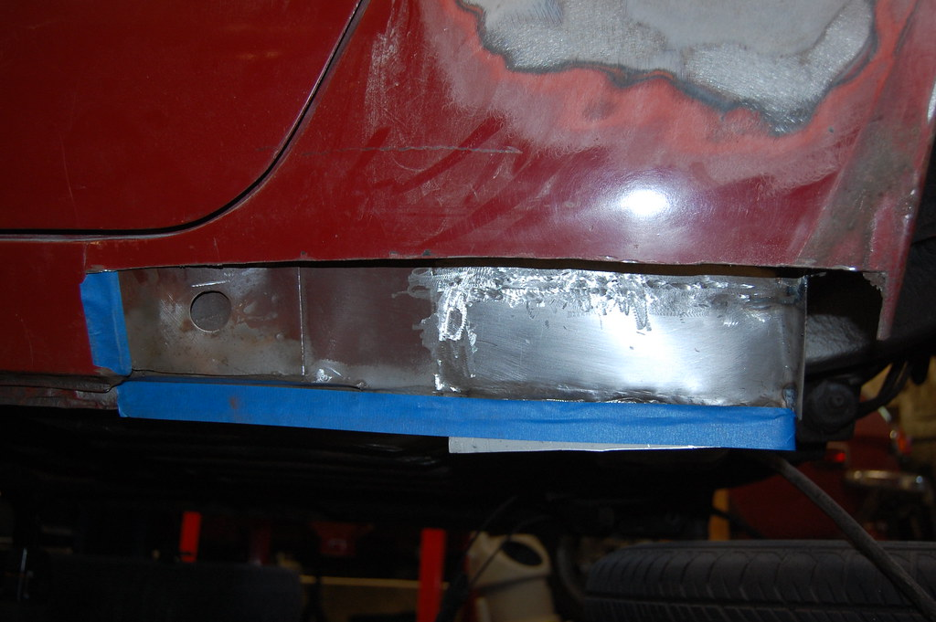 Left Rear Sill & Rocker Repair #2
