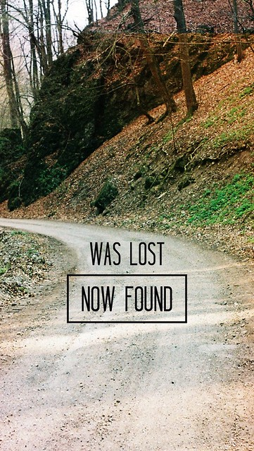 WAS LOST NOW FOUND