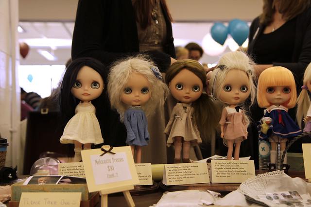 Melacacia's dolls