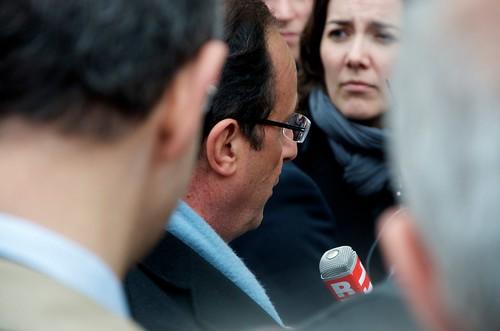 François Hollande à Besançon le 10/04/2012 - Photo DSC