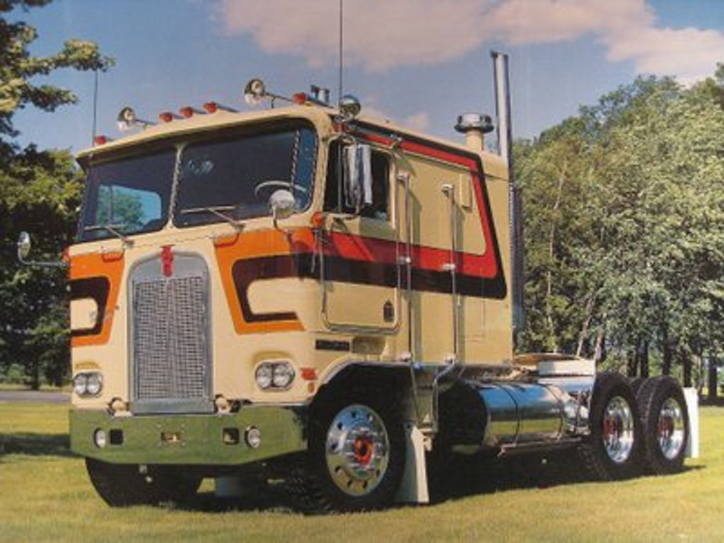 Mack Truck Blue Paint