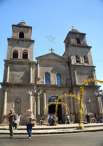 Catedral de Tarija en Pascua