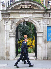 St Olave Hart Street burial ground