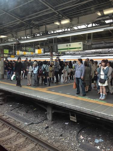 En el tren, Tokio