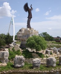 Keeper of the Plains Statue (Wichita, Kansas)