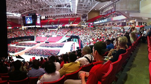 A&S Undergraduate Graduation at Texas Tech