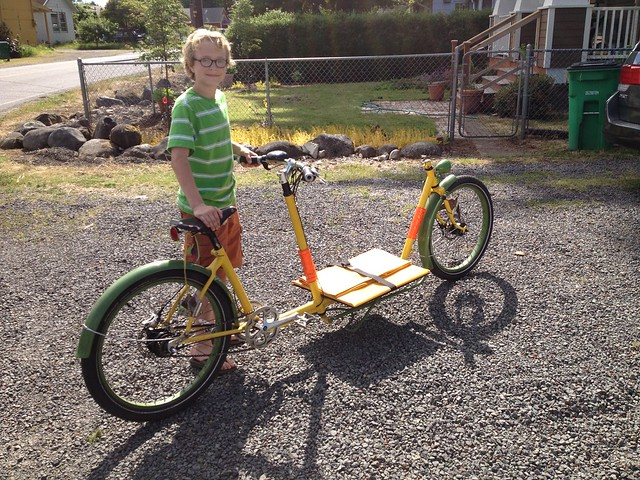 A Kid and a Cargo Bike