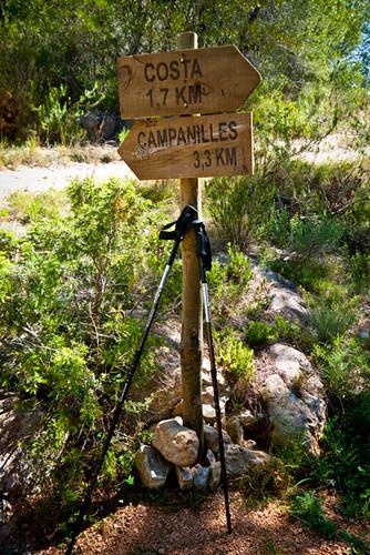 Trekking Campanilles, Alcossebre