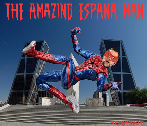 THE AMAZING ESPANA MAN by Colonel Flick