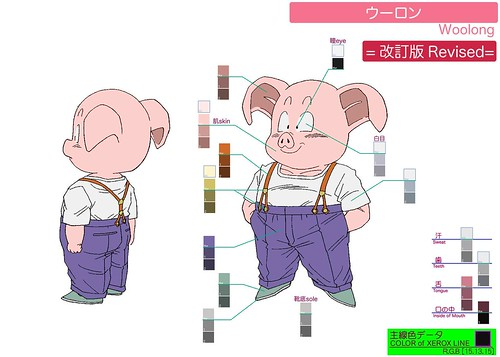 Dragon Ball Ossu! Kaette Kita Son Gokū to Nakama-tachi - Model Sheet 041