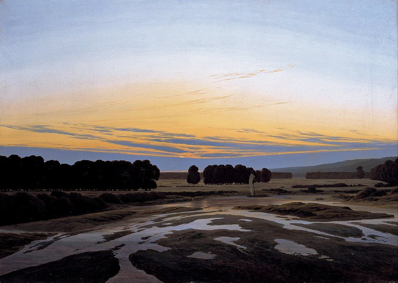 Caspar David Friedrich - The Grosse Gehege near Dresden (1832)