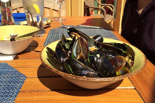 Schooners - Steamed Mussels