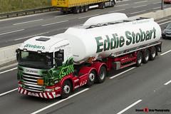 Scania G440 6x2 Tractor with Fuel Tanker - PO62 XPF - Elaine Carol - Eddie Stobart - M1 J10 Luton - Steven Gray - IMG_5333