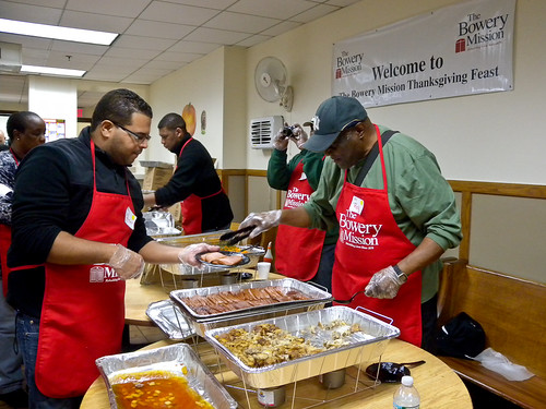 Volunteer At Soup Kitchen On Thanksgiving