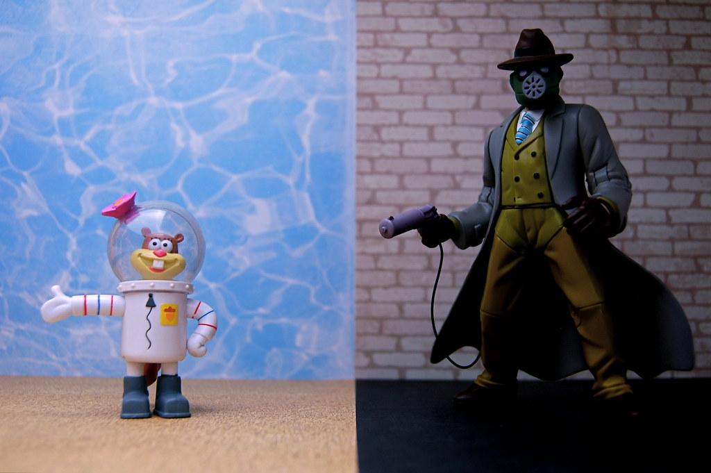 Sandy Cheeks vs. Sandman (329/365)