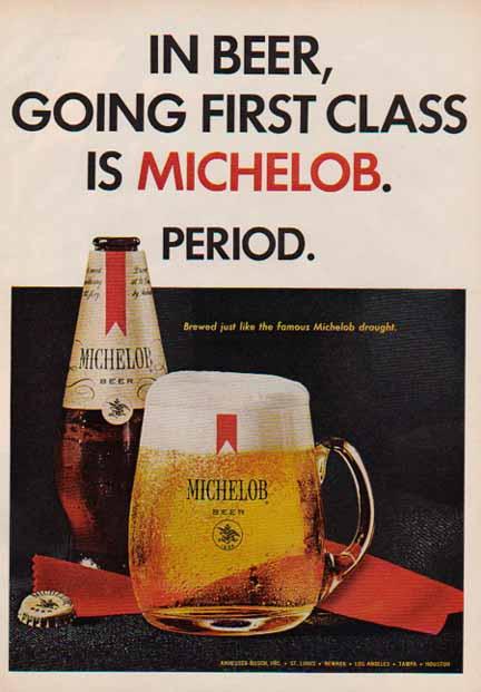Michelob-1967-1st-class