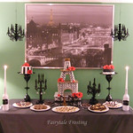 Parisian Soiree Dessert Table