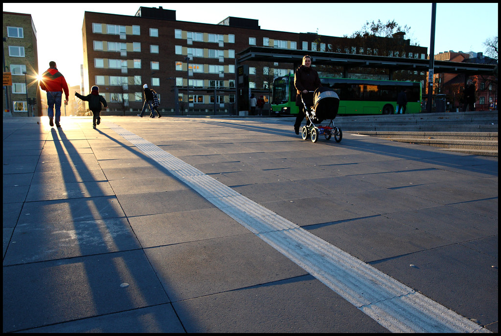street shadows by Ulf Bodin