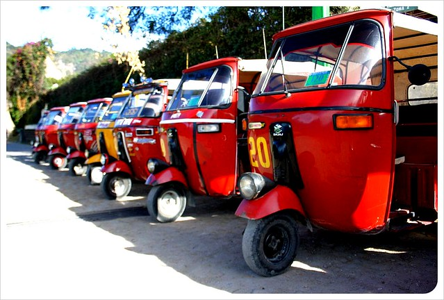 Panajachel Tuktuks