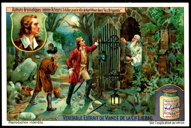 Liebig S1111 Famous Actor Playwrights - Friedrich Schiller