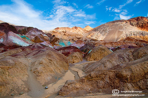 Artist Pallette Death Valley