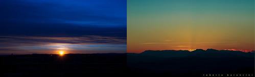 sunset sunrise nikon tramonto alba rimini d90