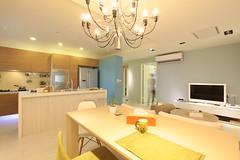 IMG_4448(cover) 客廳、廚房、餐廳流暢的動線 創造更緊密的家居關係