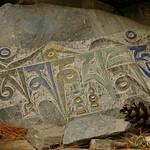 Buddhist Prayar Engraved on Stone - Annapurna Circuit, Nepal