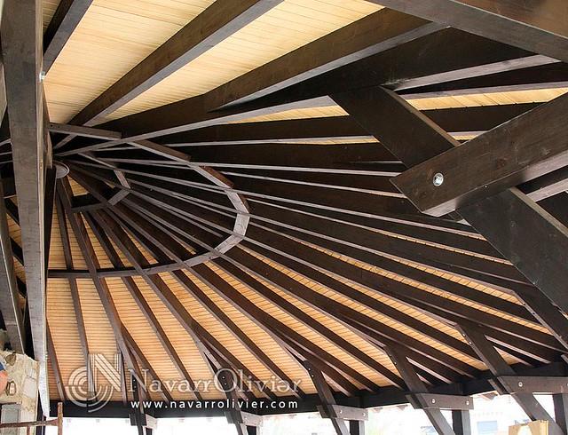 Photo - Estructuras de madera para techos ...
