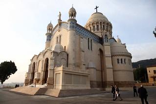 101214 Notre Dame d'Afrique restored | افتتاح كاتدرائية نوتر دام دافريك بعد ترميمها | Notre Dame d'Afrique restaurée