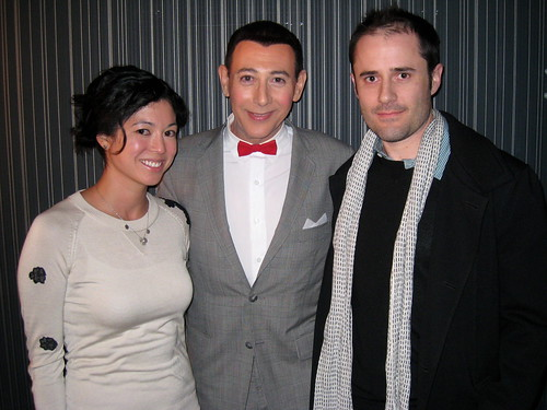 With Pee-wee!