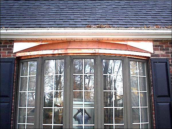 Bay Window Roof : Metal roofre bay window roof