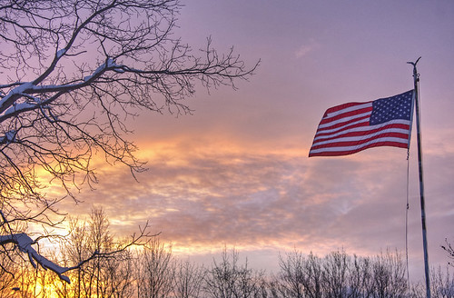 life morning usa snow nature landscape us snowy flag unitedstatesflag flaginsnow