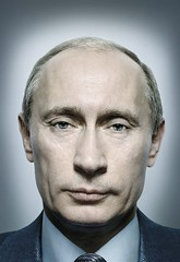 President Putin of Russia, by Platon