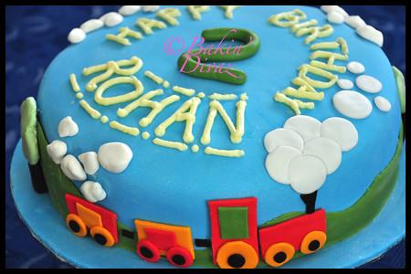 Rohan s train cake Flickr - Photo Sharing!